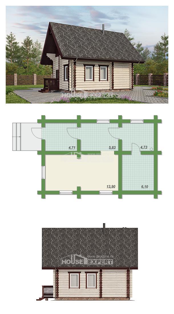 Проект дома 035-001-Л   House Expert